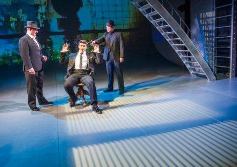 A scene from Miss Atomic Bomb @ St James Theatre (Opening 14-03-16) ©Tristram Kenton 02/16 (3 Raveley Street, LONDON NW5 2HX TEL 0207 267 5550 Mob 07973 617 355)email: tristram@tristramkenton.com