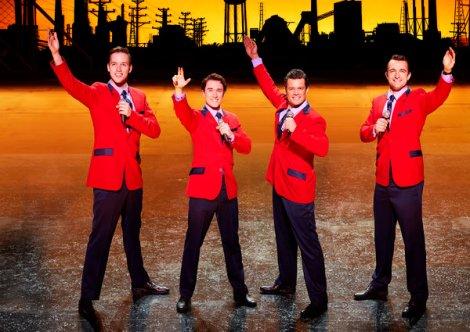 JERSEY BOYS London Cast 2016