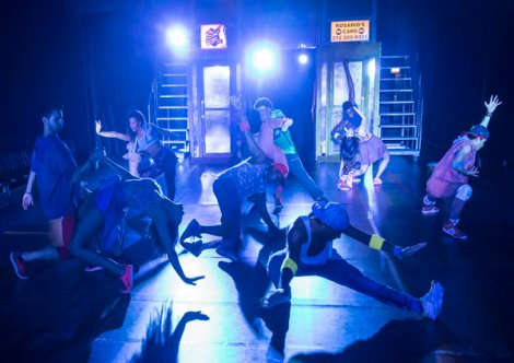 IN THE HEIGHTS by Miranda, , Music and Lyrics - Lin-Manuel Miranda, Director - Luke Sheppard, Choreographer - Drew Mconie, Kings Cross Theatre, London, 2016, Credit: Johan Persson/